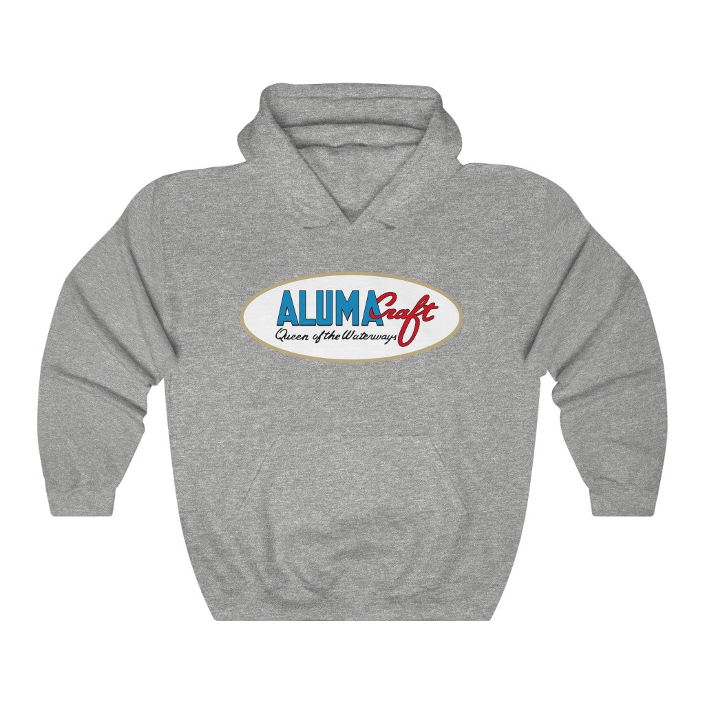 Fred Kappus Alumacraft Vintage Logo Unisex Heavy Blend™ Hooded Sweatshirt by Retro Boater