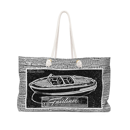 Western Fairliner Weekender Bag by Retro Boater