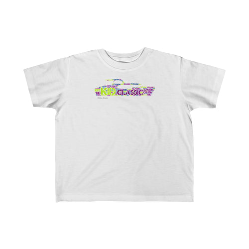Kid Classic Cruising Toddler T-shirt by Retro Boater