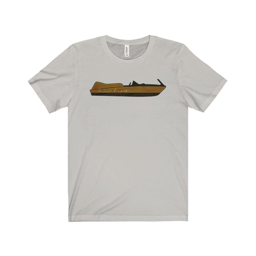Vintage Chris Craft Cobra by Classic Boater Unisex Jersey Short Sleeve Tee
