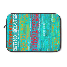 Colored Wood by Retro Boater Laptop Sleeve
