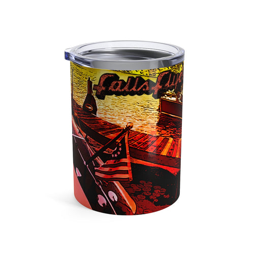 Larson Falls Flyer Tumbler 10oz by Classic Boater