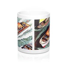 Vintage Chris Craft Cruiser Mugs by Retro Boater