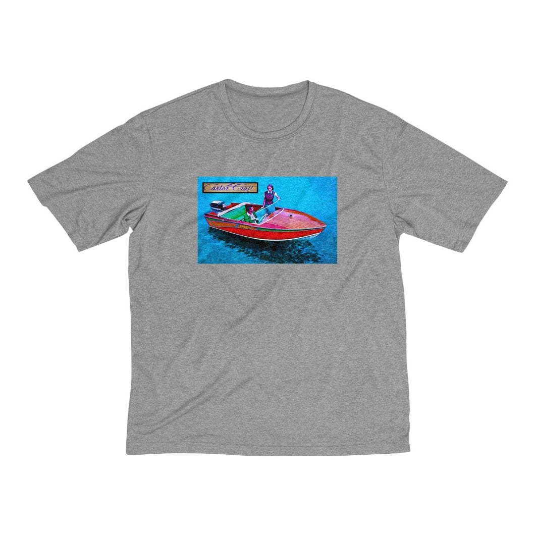 Carter Craft Men's Heather Dri-Fit Tee by Retro Boater