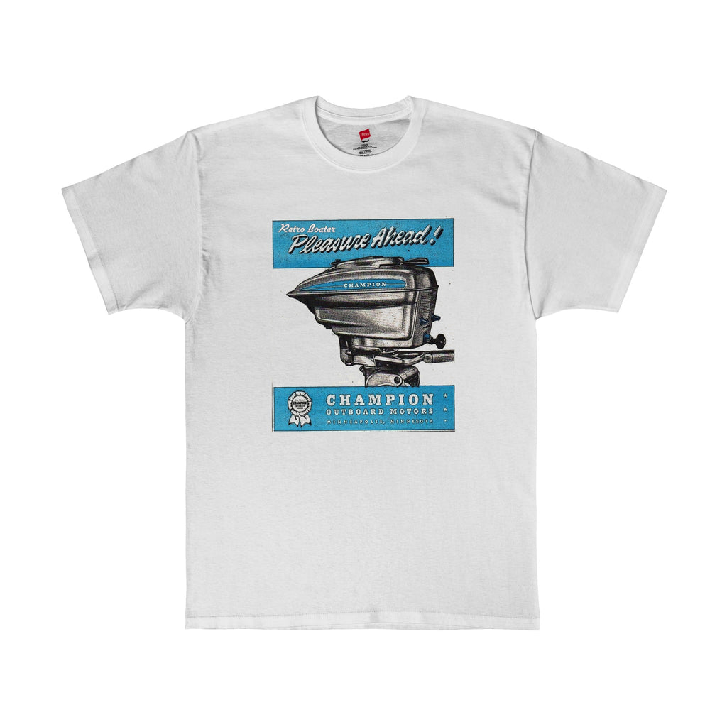 Champion Outboard Engine Co T-Shirt by Retro Boater