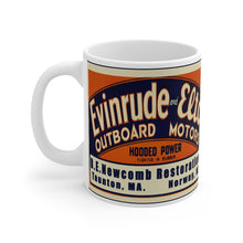 Evinrude Deep B.E. Newcomb Restorations Mug 11oz by Retro Boater