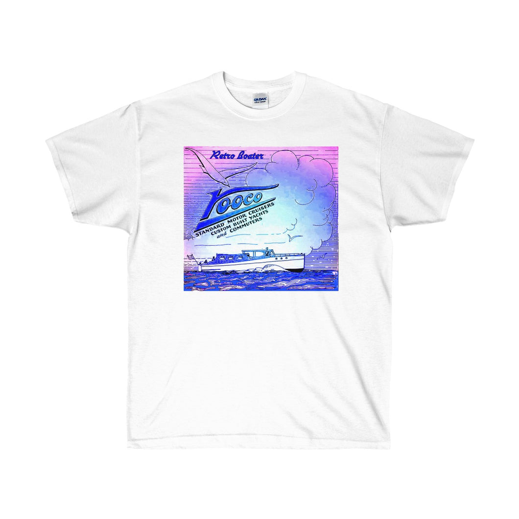 Vooco Boats by Retro Boater Unisex Ultra Cotton Tee