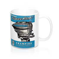 Champion Outboard Engine T-Shirt by Retro Boater
