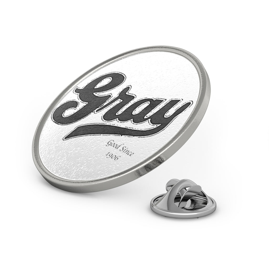 Gray Marine Metal Pin by Classic Boater