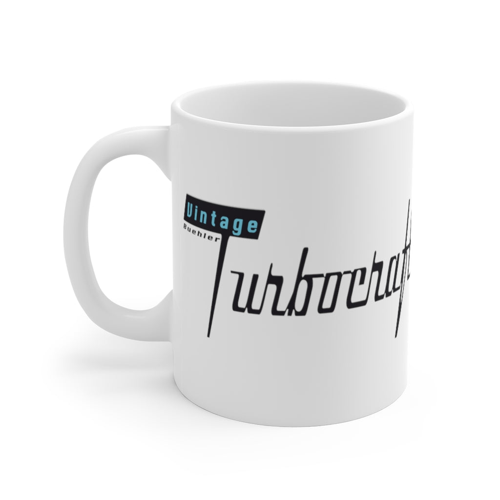 Vintage Buehler Turbocraft Mug 11oz by Retro Boater
