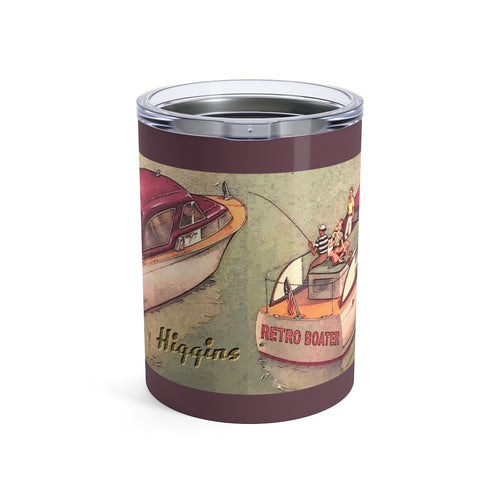 Higgins Cruiser Tumbler 10oz by Retro Boater
