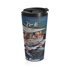 Super Toon by Retro Boater Stainless Steel Travel Mug