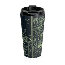 1929 Elto Outboard Engines Ad Stainless Steel Travel Mug by Retro Boater