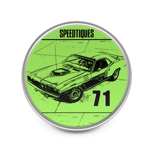 1971 Plymouth Cuda Metal Pin by SpeedTiques