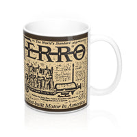 Ferro Engine Co. 11oz Mug by Retro Motor