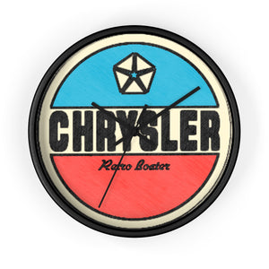 Chrysler Boat Wall clock by Retro Boater