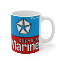 Chrysler Marine White Ceramic Mug by Retro Boater