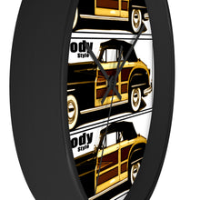 Woody Chrysler Town and Country Convertible Wall Clock by Classic Boater