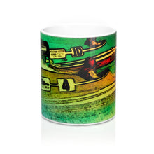 Vintage Outboard Race Mugs by Retro Boater