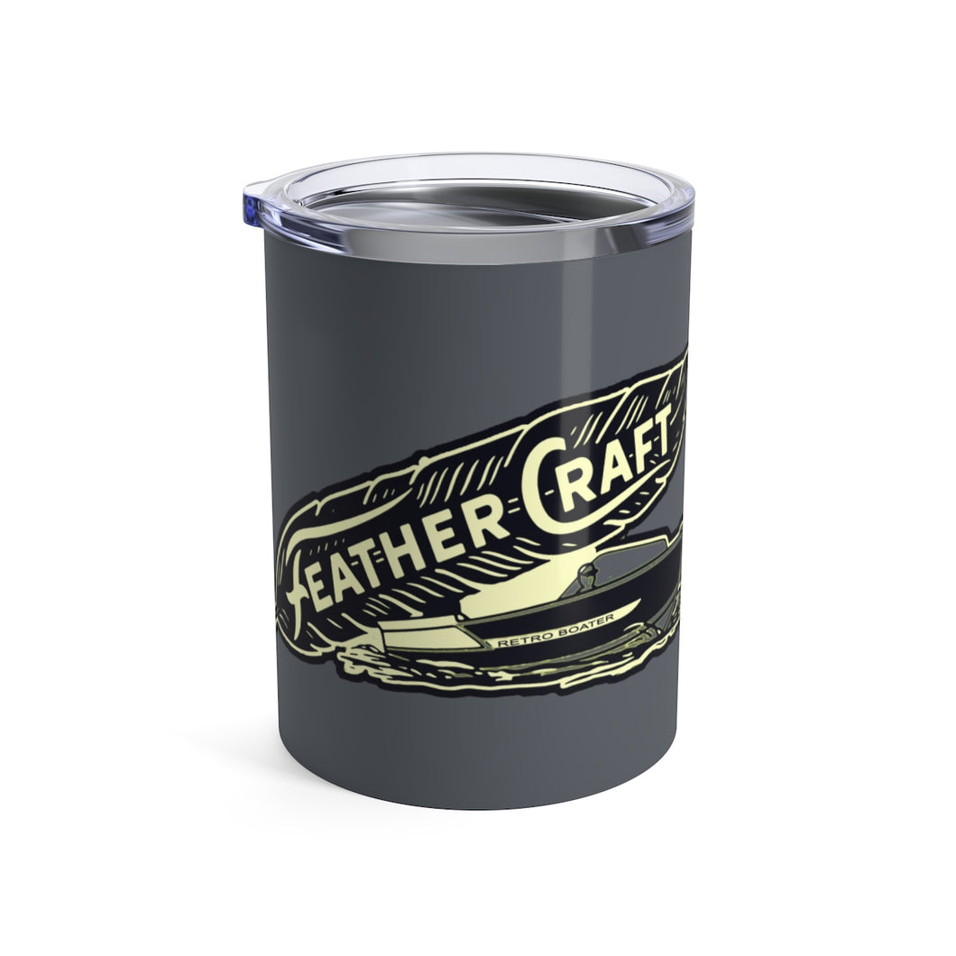 Feathercraft Tumbler 10oz by Retro Boater
