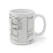 YOUR Chris Craft Hull Card On Your This Mug White Ceramic Mug by Retro Boater