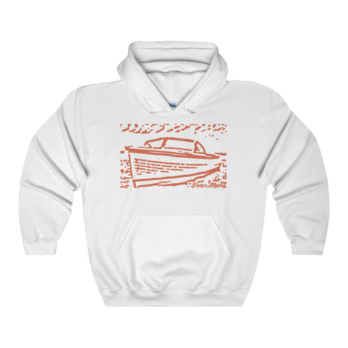 Lyman by Retro Boater Unisex Heavy Blend Hooded Sweatshirt