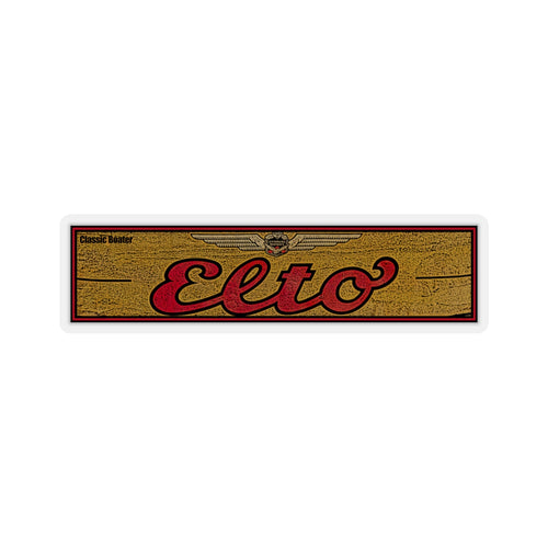 Elto Outboard Engines Kiss-Cut Stickers by Classic Boater
