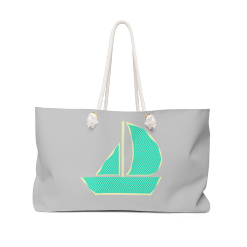 Sailboat Sketch Weekender Bag by Retro Boater