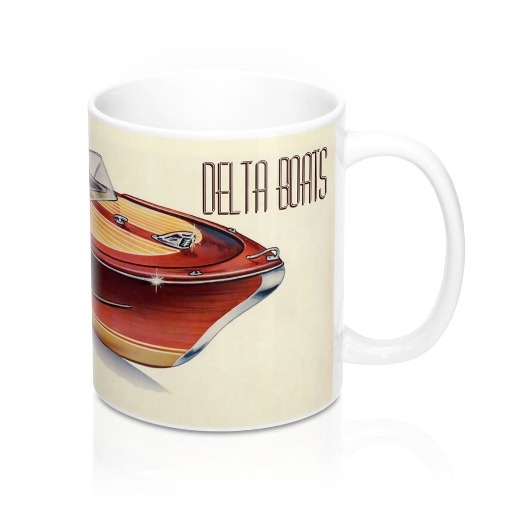 Delta Boats Mug by Classic Boater