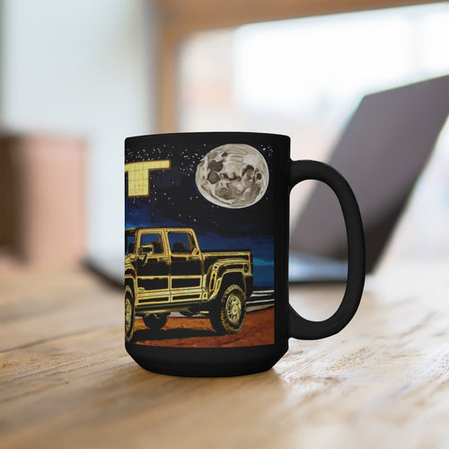 Classic 2009 Hummer H3t Black Mug 15oz by SpeedTiques