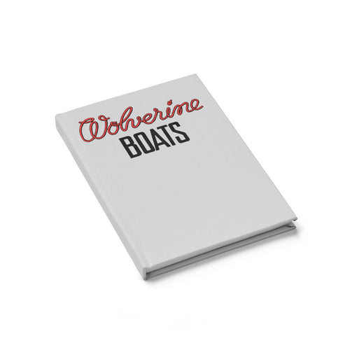 Wagemaker Wolverine Boats Journal - Ruled Line by Classic Boater