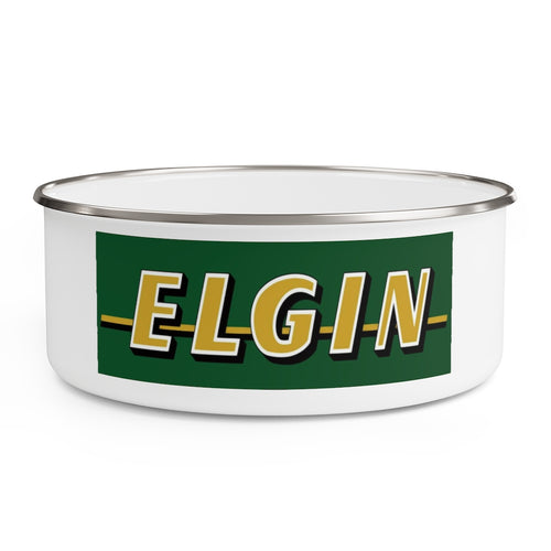 Elgin Boats and Outboards Enamel Boat Bowl
