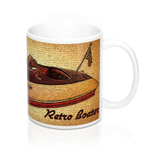 Rare Vintage Larson Speedster by Retro Boater Mugs