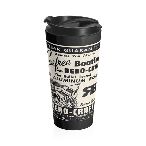 Aero Craft Steel Travel Mug by Retro Boater
