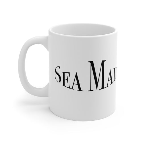 Century Sea Maid White Ceramic Mug by Retro Boater