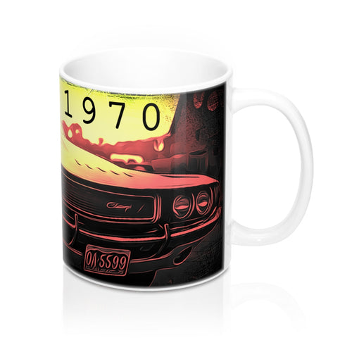 1970 Dodge Challenger Mug 11oz by SpeedTiques