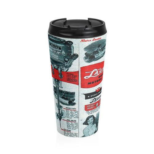 Lauson Stainles Steel Travel Mug by Retro Boater