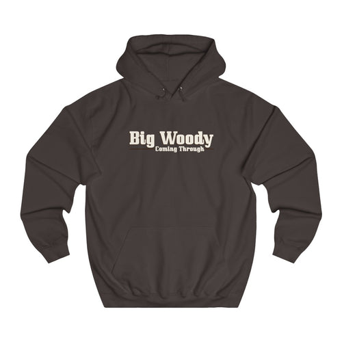 Big Woody by Classic Boater College Hoodie