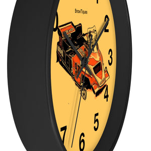 Twin Track Moto-Ski 1981 Wall clock by Snowtiques