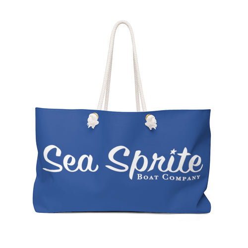 Vintage Sea Sprite Boat Company Weekender Boat Bag by Retro Boater
