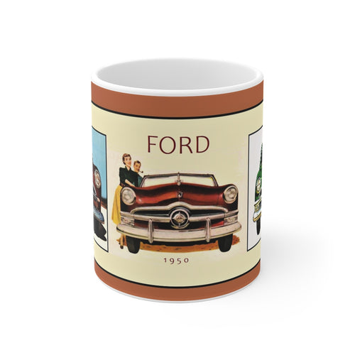 1949 1950 1951 Ford Mug 11oz by SpeedTiques
