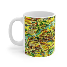 Eagle River WI White Ceramic Mug