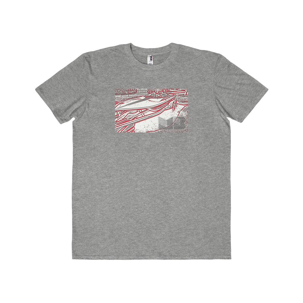 Jet Boat by Muscle Boater Men's Lightweight Fashion T-Shirt