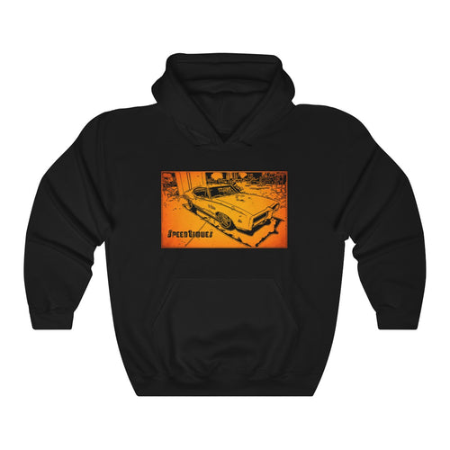 Pontiac GTO Judge Unisex Heavy Blend™ Hooded Sweatshirt by SpeedTiques