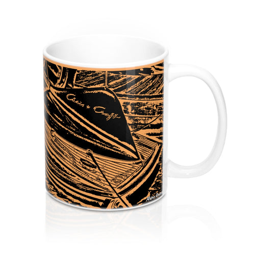 1955 Chris Craft Cobra Mug 11oz by Retro Boater