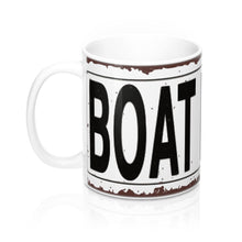 Vintage Boathouse Sign from Northern WI Mug 11oz