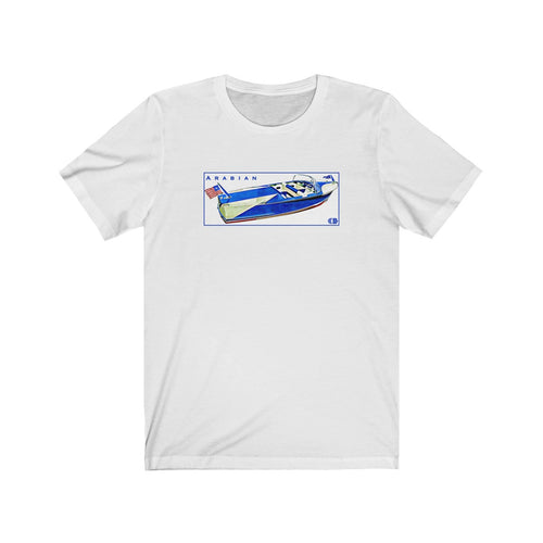 Century Arabian Unisex Jersey Short Sleeve Tee by the Classic Boater