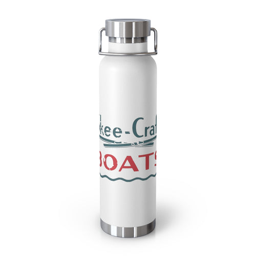 Vintage Skee Craft Boats 22oz Vacuum Insulated Bottle