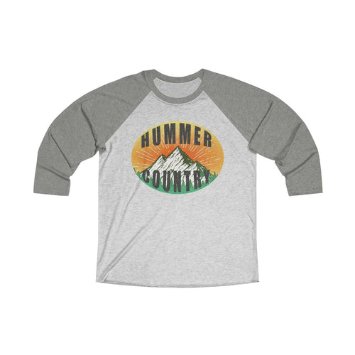 Hummer Country Unisex Tri-Blend 3/4 Raglan Tee by SpeedTiques