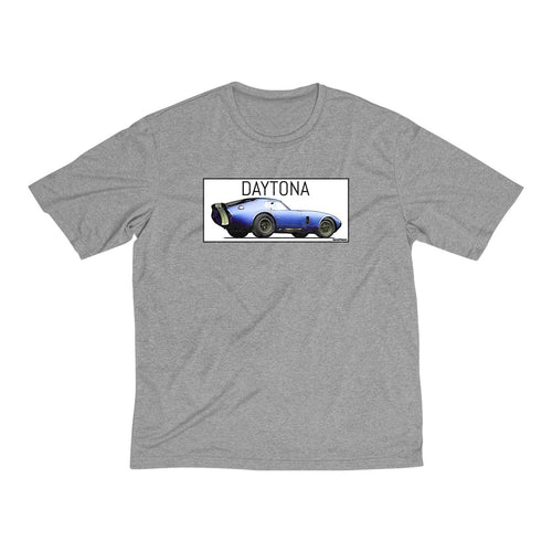 Carrol Shelby Vintage Daytona Men's Heather Dri-Fit Tee by SpeedTiques